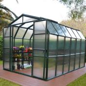 Grand Gardener 2 Twin Wall 2.4m W x 2.7m D Polycarbonate Greenhouse