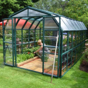 Rion Greenhouses Grand Gardener Clear 2.4m x 4.9m Greenhouse 702494