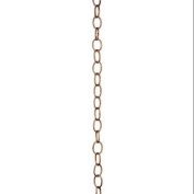 Good Directions Small Single Link Rain Chain - Polished Copper