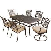 Traditions 7-Piece Metal Patio Dining Furniture Set