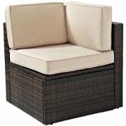 Crosley Outdoor Palm Harbour Outdoor Wicker Corner Chair