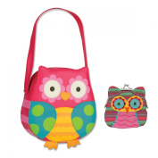 Stephen Joseph Owl Purse and Owl Coin Purse Combo - Gifts for Girls