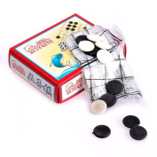 Children Enlightenment Set Go Portable Folding Magnetic Chess Backgammon Magnetic Chess Training With