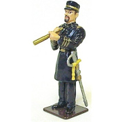 American Civil War US Navy Naval Captain Metal Hand Painted Collectible Figure Toy Soldier W Britain Type