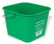 Crestware BUCSG 2.8l Cleaning Bucket, Small, Green