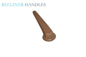 Recliner-Handles Lever Style Recliner Release Handle 1.6cm Hole With Painted Oak Finish