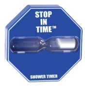 Stop in Time 5 minute shower timer