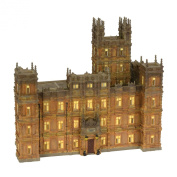 Department 56 Downton Abbey Lit House, 29cm