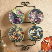 Garden Visitors Mini Plate Set