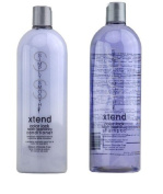 Simply Smooth Xtend Colour Lock Keratin Replenishing Shampoo & Conditioner - 1000ml/33.8oz