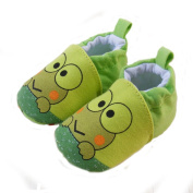 ELee Baby Toddler Cartoon Animal Soft-sole Non Slip Crib Shoes Indoor Slipper for Pre-Walkers