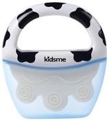 Kidsme Moo Moo Soother - Black/White - Unisex