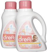 Dreft HE Baby Laundry Detergent - 1480ml - 2 pk