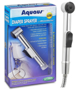 Aquaus Nappy Sprayer for Toilet - Made in the USA - NSF Certified - 3 Year Warranty