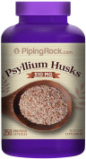 Piping Rock Psyllium Husks 510 mg 250 Quick Release Capsules Dietary Supplement