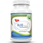 Antarctic Krill Oil 1200mg Omega-3 Fatty Acids EPA DHA 60 Caps