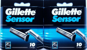 Gillette Sensor Refill Cartridges - 10 ct - 2 pk