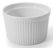 BIA Cordon Bleu White Porcelain 470ml Souffle Dish