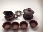 Gaiwan Brown colour set 100ml Tea Set 7pcs for Sell