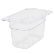 Excellante Ninth Size 10cm Deep Polycarbonate Food Pan