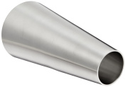 DixonB31W-G400200P Stainless Steel 304 Polished Fitting, Weld Concentric Reducer, 10cm Tube OD x 5.1cm Tube OD