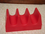 Taco Holders ~~ Red ~~ Package of 4