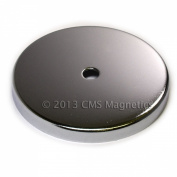 1 ct CMS Magnetics® 100kg Holding Power Round Base Magnet RB90 12cm Cup Magnet