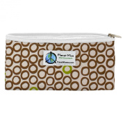 Planet Wise Zipper Snack Bag, Lime Cocoa Bean