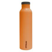 Lifeline 7506OR Solar Orange Stainless Steel Vacuum Insulated Double Wall Bottle - 710ml Capacity