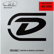 Dunlop DBMMS45105 Marcus Miller Super Bright Bass Strings - 4 String Set