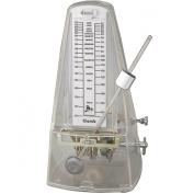 Cherub WSM-330 White   High Accuracy Mechanical Metronome Transparent