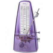 Cherub WSM-330 Purple   High Accuracy Mechanical Metronome Transparent