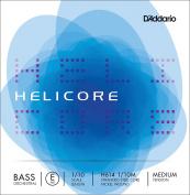 D'Addario Helicore Orchestral Bass Single E String, 1/10 Scale, Medium Tension