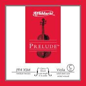 D'Addario Prelude Viola Single C String, Extra Short Scale, Medium Tension