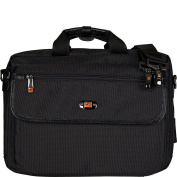 Pro Tec LX307GER Lux Pro Pac Case for German Clarinet, Black