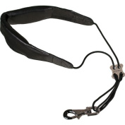 "Pro Tec L305M 60cm Leather ""Less-Stress"" Saxophone Neck Strap with Deluxe Metal Trigger Snap"