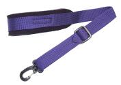 Purple Neoprene padded Saxophone strap in 22 colours, locking swivel snaphook for Alto Tenor or Soprano Sax Model SSXW by Legacystraps