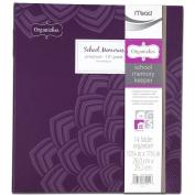 Mead Organizher School Memory Keeper, 14-Folder Organizher, 26cm x 29cm , Purple