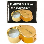 10 X 21 Jewellers Magnifier Magnifying Glass Eye Loupe Detect Gold Silver Jewlery