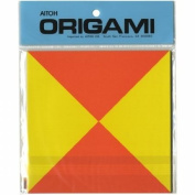 Aitoh TTT-200 2-Tone Triangles Origami Paper, 1.8m by 15cm , 36-Pack