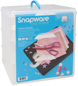 Snapware Snap 'N Stack Large Sq 3 Layer 4 Dividers