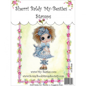 My-Besties MYB58 Clear Stamp, Raggedy Rose, 10cm x 15cm