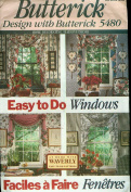 Butterick Easy To Do Windows Sewing Pattern 5480