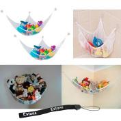 Estone® 21m Jumbo Toy Hammock Net Organiser for Stuffed Animals Storage New