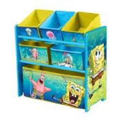 Nickelodeon Sponge Bob Multi-Bin Toy Organiser