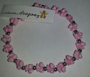 The trrtlz - DRAGONZ Pink Charm Bracelet