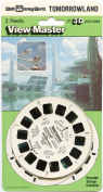 ViewMaster Walt Disney World - Tomorrowland - 3 reels on card - New and Unopened