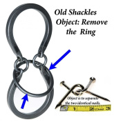 OLD SHACKLES _ Tavern Puzzles Heavy Metal Disentanglement-Style Brain Teaser _ BONUS Twisted Nails Puzzle