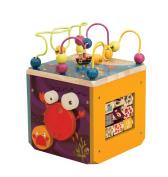 B B.Underwater Zoo Activity Cube Playset