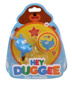 Hey Duggee Tag Figure with Feature Badge